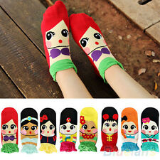 Korean Womens Cute Adorable Cartoon Girls Cotton Ankle Socks Low Cut Socks Gift