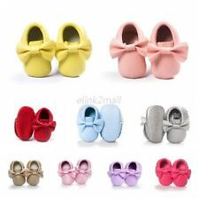 Cozy Infant Boy Girl Moccasin Crib Shoes Toddler Baby Soft Sole Leather Sneakers