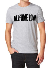All Time Low LOGO FRUIT OF THE LOOM T-SHIR S-XXL gray white