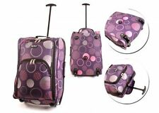 EZ FLY WHEELED HAND LUGGAGE TROLLEY FLIGHT TRAVEL CABIN SUITCASE HOLD ALL BAGS