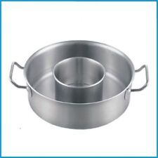 Composite bottom paragraph stainless steel pot ears