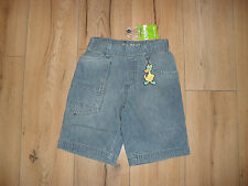 BRAND NEW BOYS BLUE DENIM 100% COTTON SHORTS JEANS AGE 2 - 10 YEARS BNWT