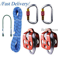 "Outdoor Garden Rope Working Kit with Eye to Eye Prusik 30"" Tree Working Hauling"