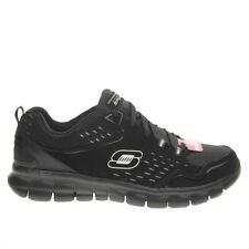 Skechers Women's Shoes Sneakers Synergy Memory Foam Front Row leather e mesh.