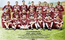 BS513 Cardinals Football Club Team Picture 1932 12x18 Colorized Photo