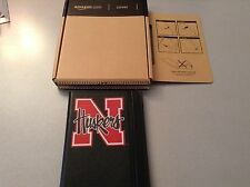 """Kindle 2nd Generation  Black Leather Cover 6""""  CORNHUSKER for Reading Device"""