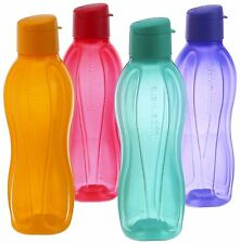 4x TUPPERWARE Flip Top Bottles AquaSafe AQUA SAFE 25 Oz- 750ml SHIPS FREE WORLD
