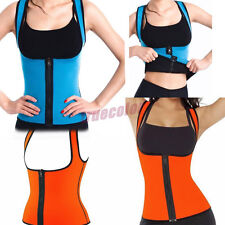 WOMENS FEMALE NEOPRENE VEST WAIST CINCHER TRAINER UNDER BUST CORSET BODY SHAPER*