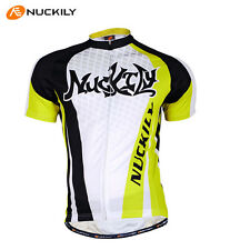 Cycling Short Sleeve Tops Jersey Shirt Maillot Men Team Bike Bicycle Riding Wear