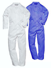 Portwest 2201 Mens Coverall Food Processing Boiler Suit Polycotton Work Overall