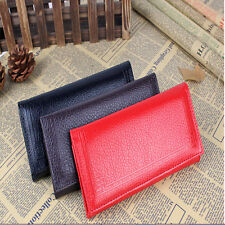 Long Card Handbag Unisex Lady Leather Bag  Clutch Wallet Purse Coin