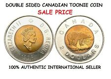DOUBLE SIDED CANADIAN TOONIE COIN [2 DOLLAR CANADIAN COIN]