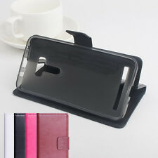 Folio Stand Phone Leather Case Cover Skin For ASUS Smartphone series