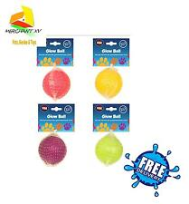 GLOW In The Dark Ball Dog Rubber Bounce 6 cm diameter, your dog will love it!!!