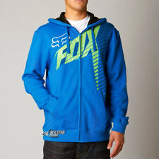 Fox Racing Blue Horizon Yamaha Moto Zip Hoodie Sweatshirt Hoody Sweater fleece