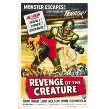 Revenge Of The Creature 1955 Horror Monster Movie Vintage-Style Poster