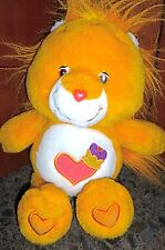 "Care Bear 14"" Plush * Cousin * Brave Heart Lion *"