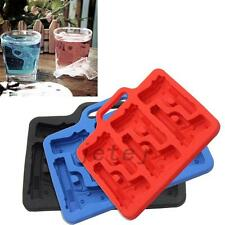 Creative Silicone Pistol Shape Ice Tray Gun Shape Ice Cube Freeze Mold Drink