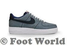Mens Nike Air Force 1 - 488298-432 - Obsidian Blue Legend Trainers