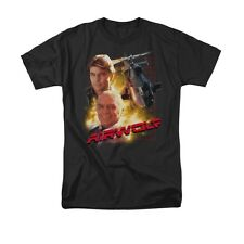 AIRWOLF HELICOPTER Licensed Adult Men's Graphic Tee Shirt SM-5XL