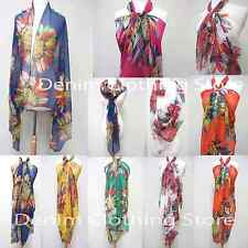 Women's Summer Pareo Dress Sarong Beach Bikini Swimwear Cover Up Scarf Wrap 69""
