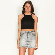 New  Clouded Mind Skirt in Grey | sale Womens Sale Womens Sale Skirts