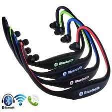 Wireless Bluetooth Headset Sports Stereo Headphone for Smart Cell Phone