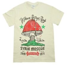 Allman Brothers Band Syria Mosque Southern Rock Music Men's Cream-White T-Shirt