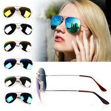 Womens Mens Retro Vintage Aviator Mirror Sunglasses Len Driving Glasses Eyewear