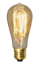 Carbon Filament Lamp 25W E27 or B22 Squirrel Cage Vintage Globe Bulb 240V Oriel
