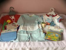 Bundle little boys clothes and accessories age 3-6 months all new .