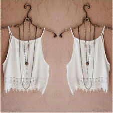 Sleeve T-Shirt Lace Blouse Short Tank Summer Tops Tops Womens Casual Tee