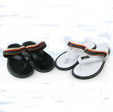 Rainbow Lace Up Men's Rubber Beach Flip Flops Casual Shoes Sandals Slippers Z38
