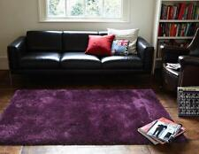 Thick Plush Cloud Shag Floor Area Floor Area Rug Eggplant
