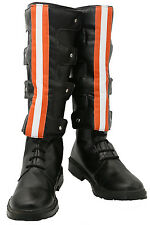 New Movie Ghostbusters Shoes Cosplay Costume PU leather Boots For Halloween Prop