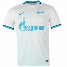 Nike FC Zenit Saint Petersburg Away Jersey 2015 2016 Mens White/Blue Football