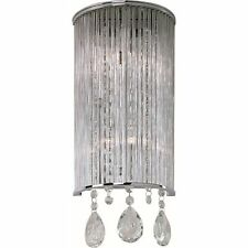 ET2 Lighting E22290-18PC Gala 2-Light Wall Lamp Polished Chrome