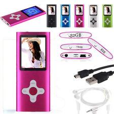 "8GB Digital MP3 MP4 Media Player 1.8""LCD Screen FM Radio & Games & Movie Hot"