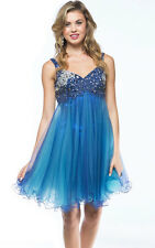 Royal Blue Sexy Short Homecoming Prom Cocktail Dress Sale