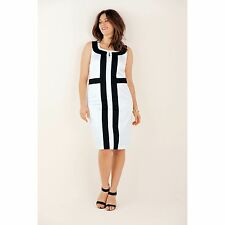 Taillissime Womens Two-Tone Shift Dress