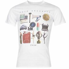 Twin Atlantic Free Official Band T-Shirt Mens White Music Top Tee T Shirt