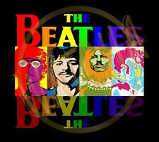 The Beatles Retro Style Image Men's T-Shirts Sizes (S thur 4XL)