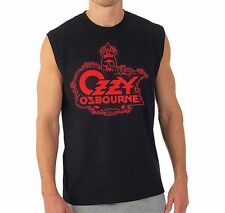 Ozzy Osbourne Skull Logo Muscle Tank Top T-Shirt SM, MD, LG, XL, XXL New