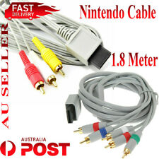 Audio Video Component / Composite RCA Cable for Nintendo Wii Wii U Game Console