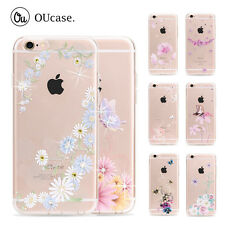 OUcase Crystal Diamond Rhinestone Bling Clear TPU Case Cover For iPhone 6/S Plus