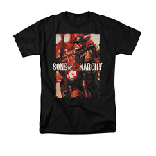 SONS OF ANARCHY CODE RED Licensed Men's Graphic Tee Shirt SM-5XL