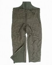 German army military surplus quilted thermal under trousers