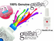 Gelish Harmony Gelish ® Soak Off Gel Polish UV LED Nail Polish 15ml 100% Genuine