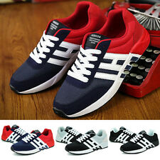 Men Casual Running Trainers Walking Breathable Sport Athletic Shoes Sneaker Z114