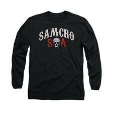SONS OF ANARCHY SAMCRO FOREVER Licensed Men's Long Sleeve Tee Shirt SM-2XL